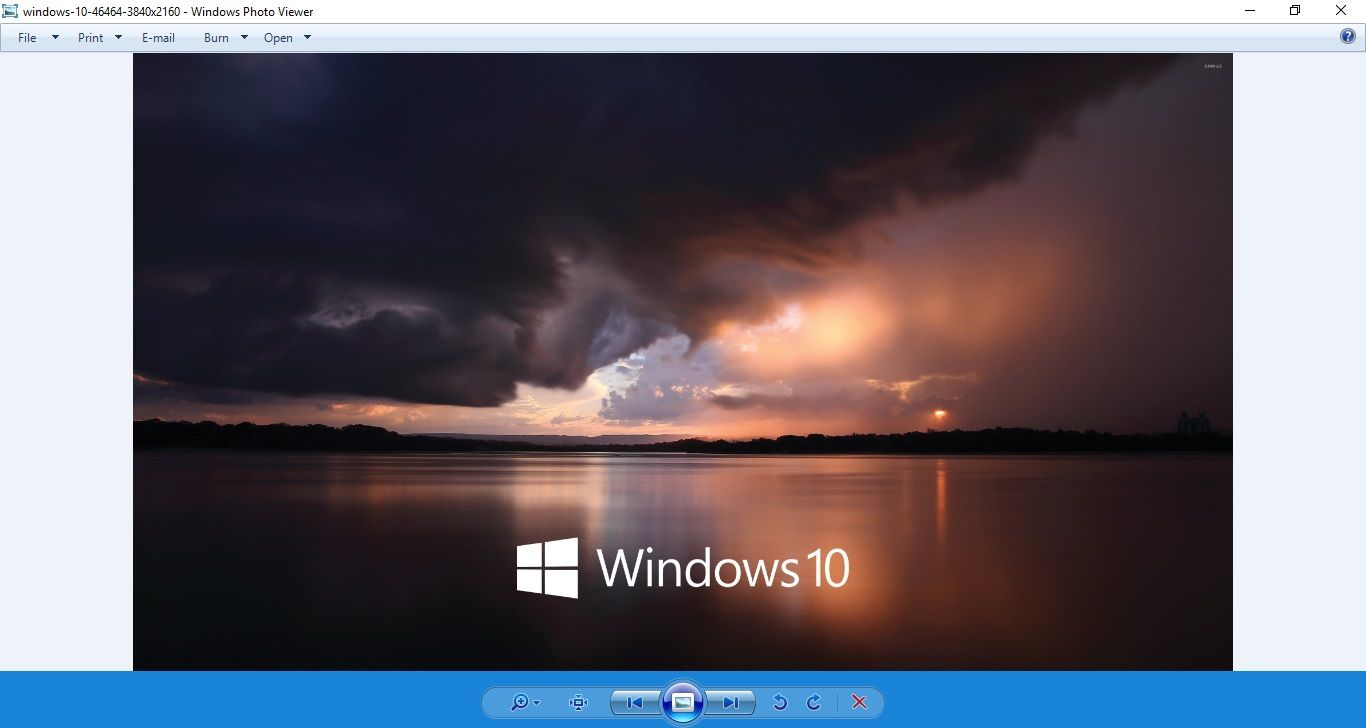 We Upgraded From Windows 7 Or Windows 8 1 To Windows 10 But Some Users Are Missing The Old Windows Photo Viewer Here Are The Steps Windows 10 Sky Lake Clouds