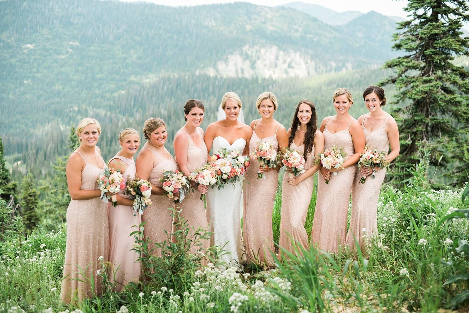 whitefish mountain resort wedding | bridesmaid fashion | pinterest
