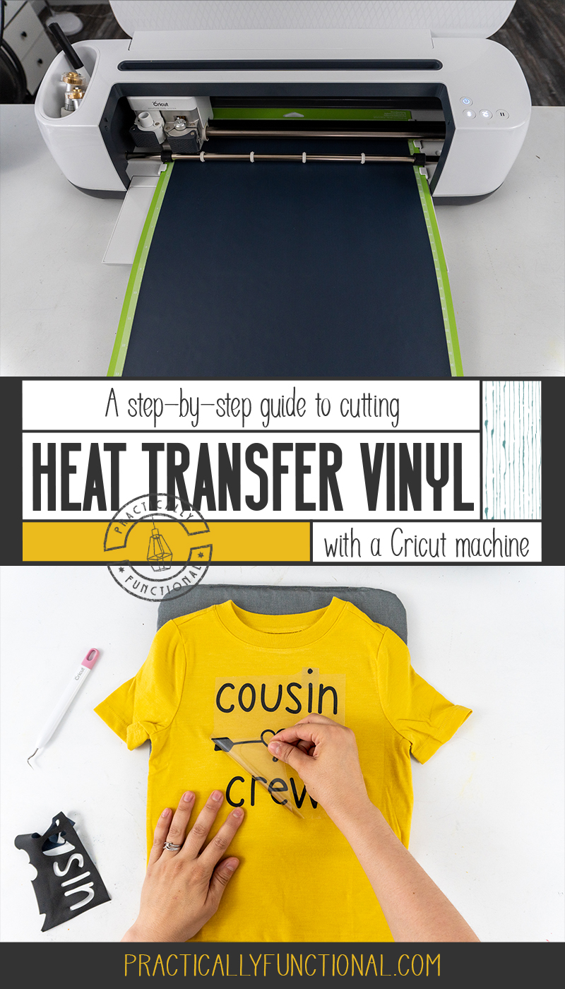How To Use Heat Transfer Vinyl With A Cricut Machine: A Step By Step Guide