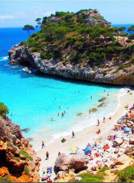 Calo Des Moro Beach Mallorca Spain