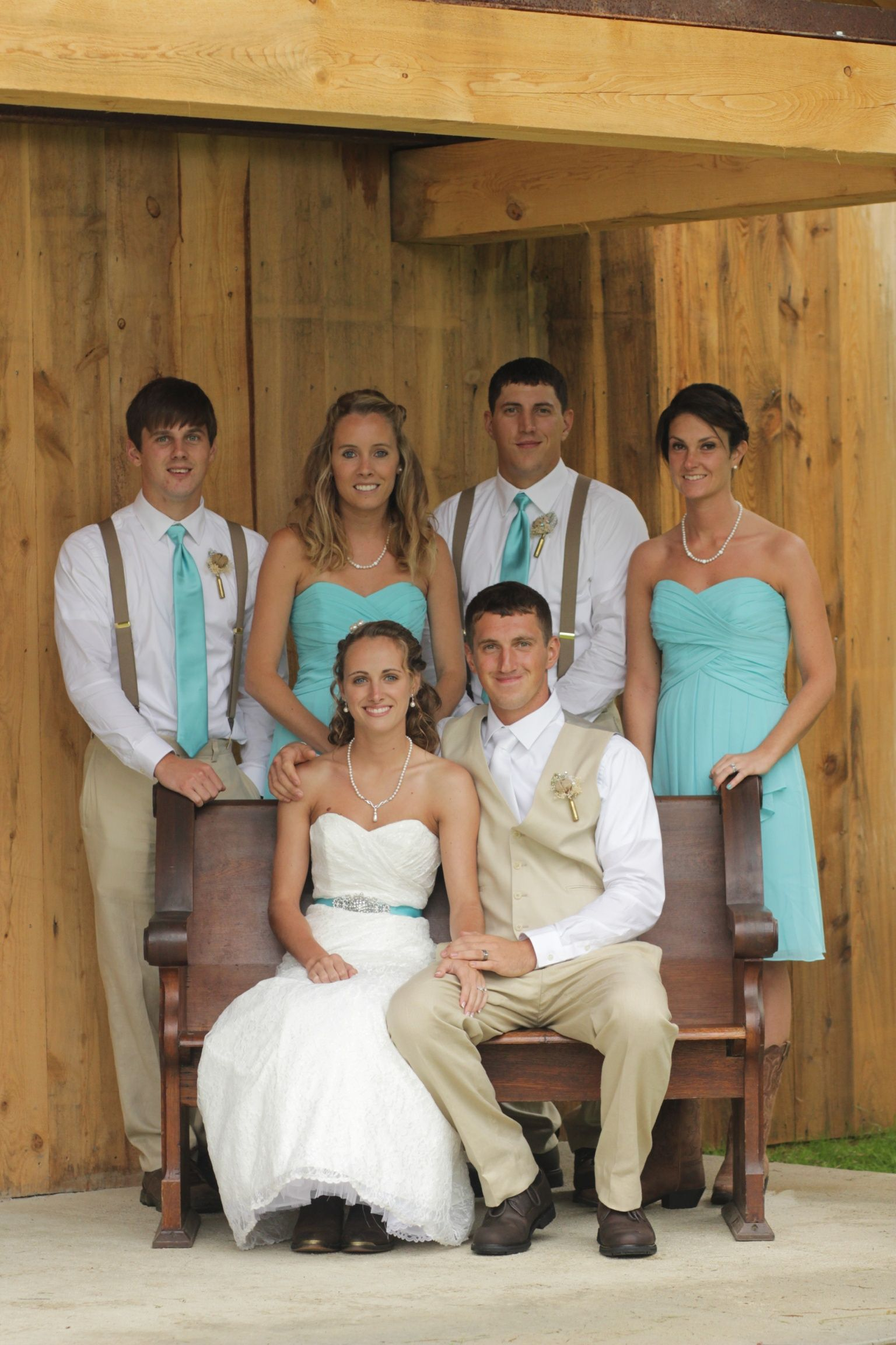 Small wedding parties with casual clothes | Backyard ...