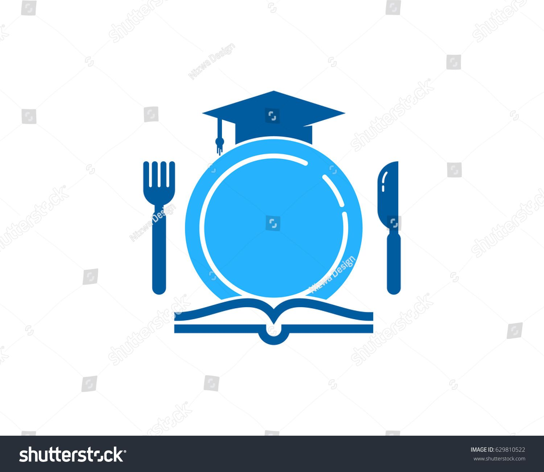 Food Education Icon Logo Design Element Ad Affiliate Icon