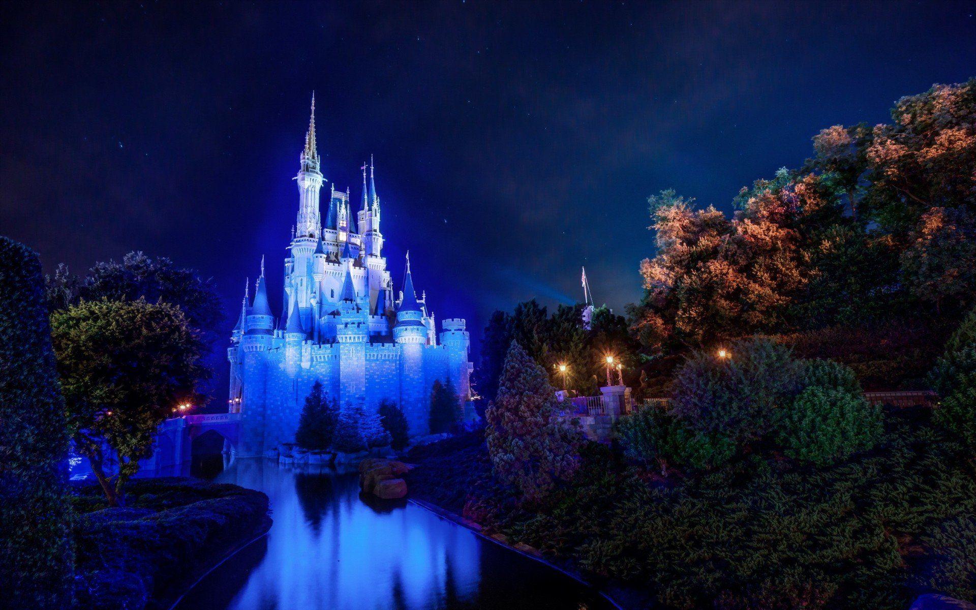 Magic Kingdom Cinderella Castle Walt Disney World Hd Wallpaper