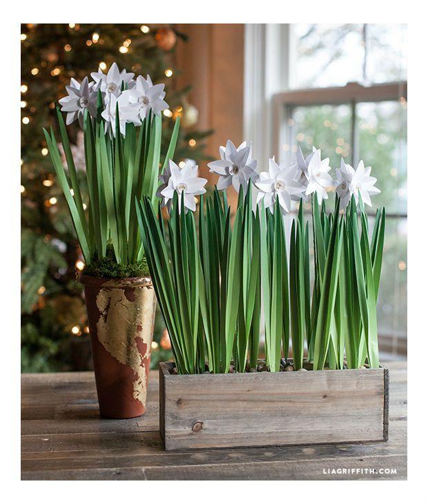 Arranjo Feito Com Flores De Papel Passo A Passo Com Imagens