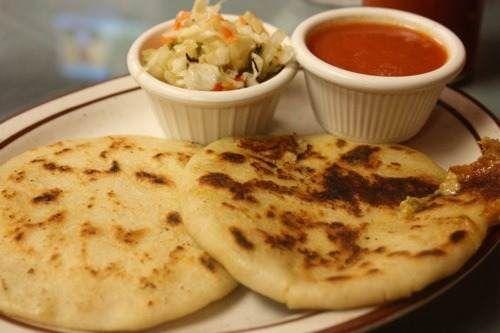 Recetas De Comida Peruana Recetas De Cocina Costarricenses De Tortilla Aliñada Salvadorian Food Salvadoran Food Salvador Food