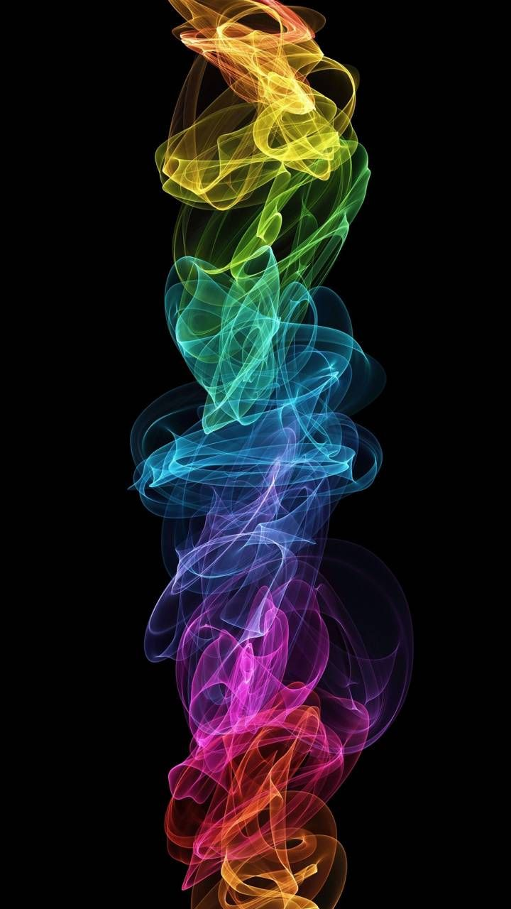 Colorful Flame wallpaper by P3TR1T - ec - Free on ZEDGE™