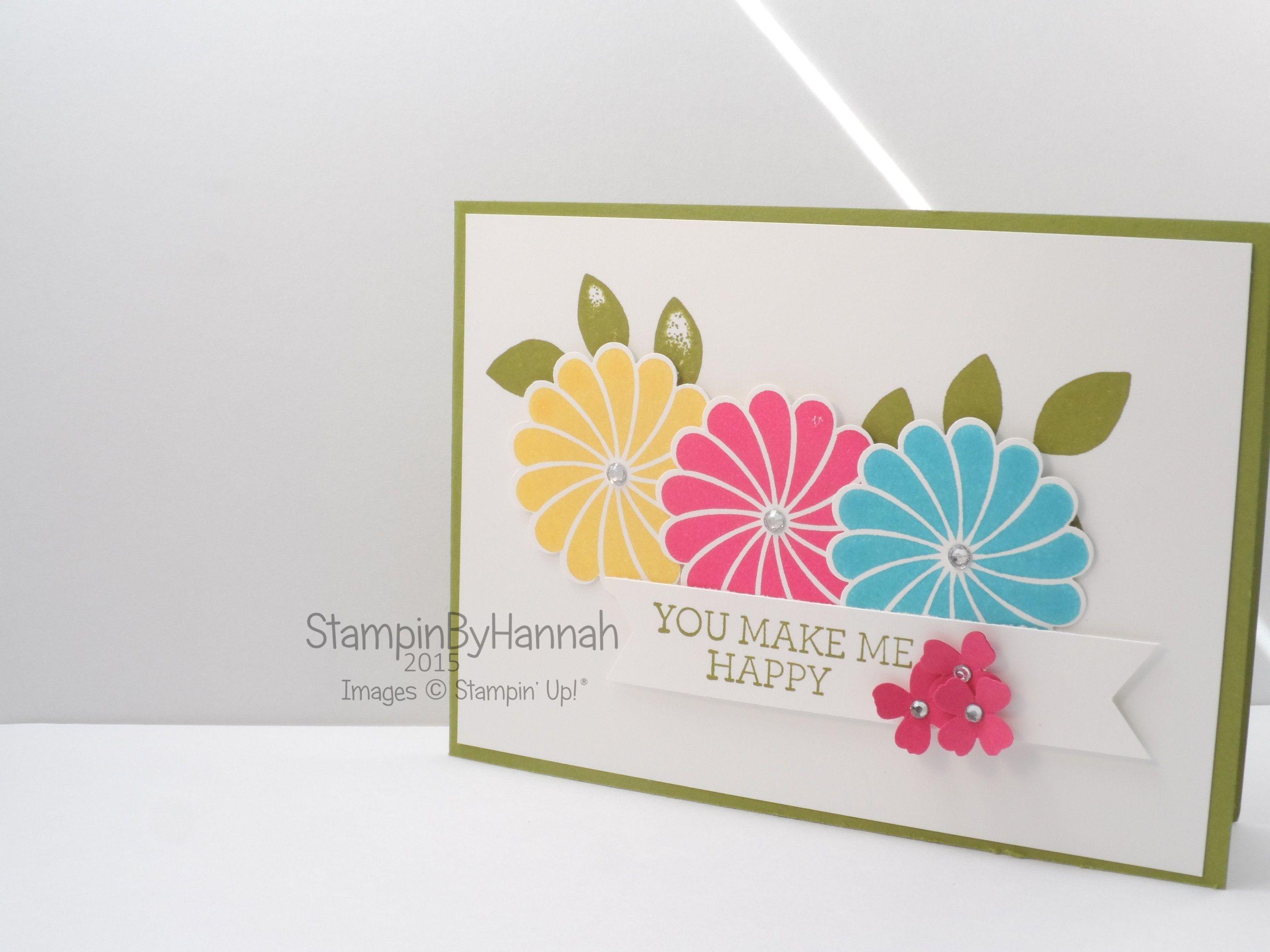 Stampinu up uk freshly make sketches cardmaking crazy about you