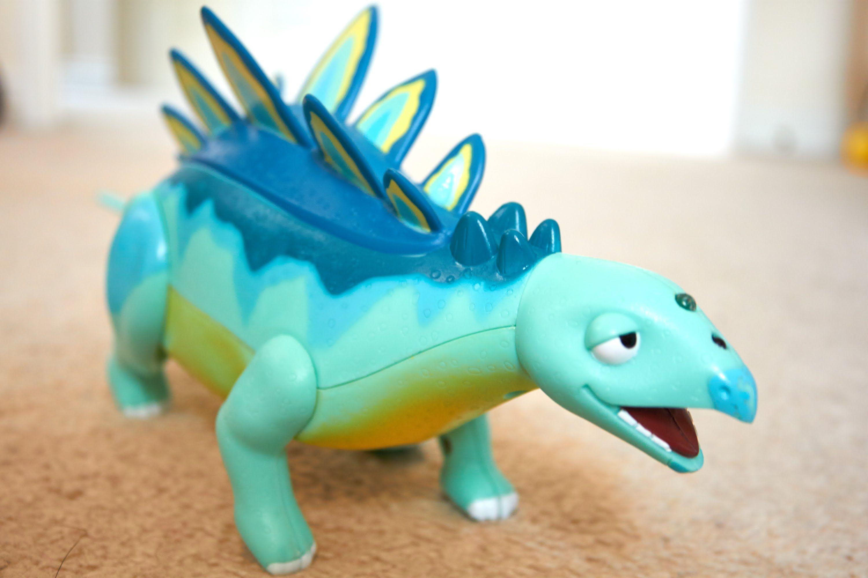 Cartoon Dinosaur Train Hd Toy For Children Collection Stegosaurus Mainan Figure Dinosaurus Dino World Morris