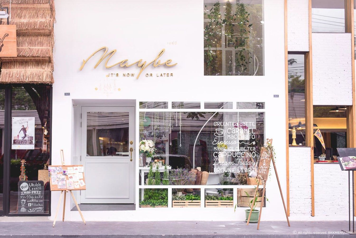 Maybe flower cafe สุขุมวิท foodboutique