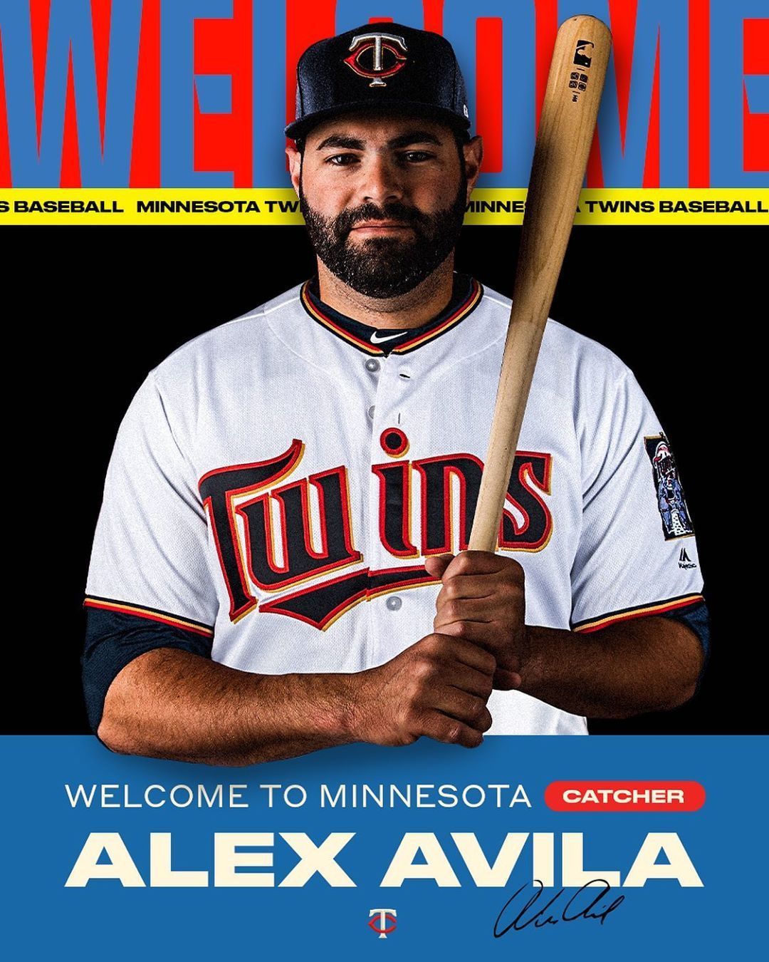 Minnesota Twins It's official to MN, Alex.