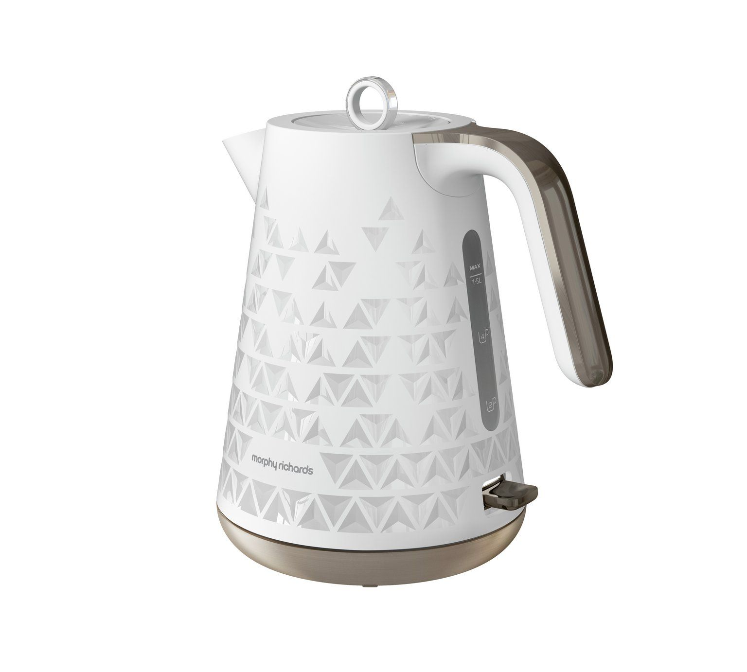 Prism White Jug Kettle| Kitchen