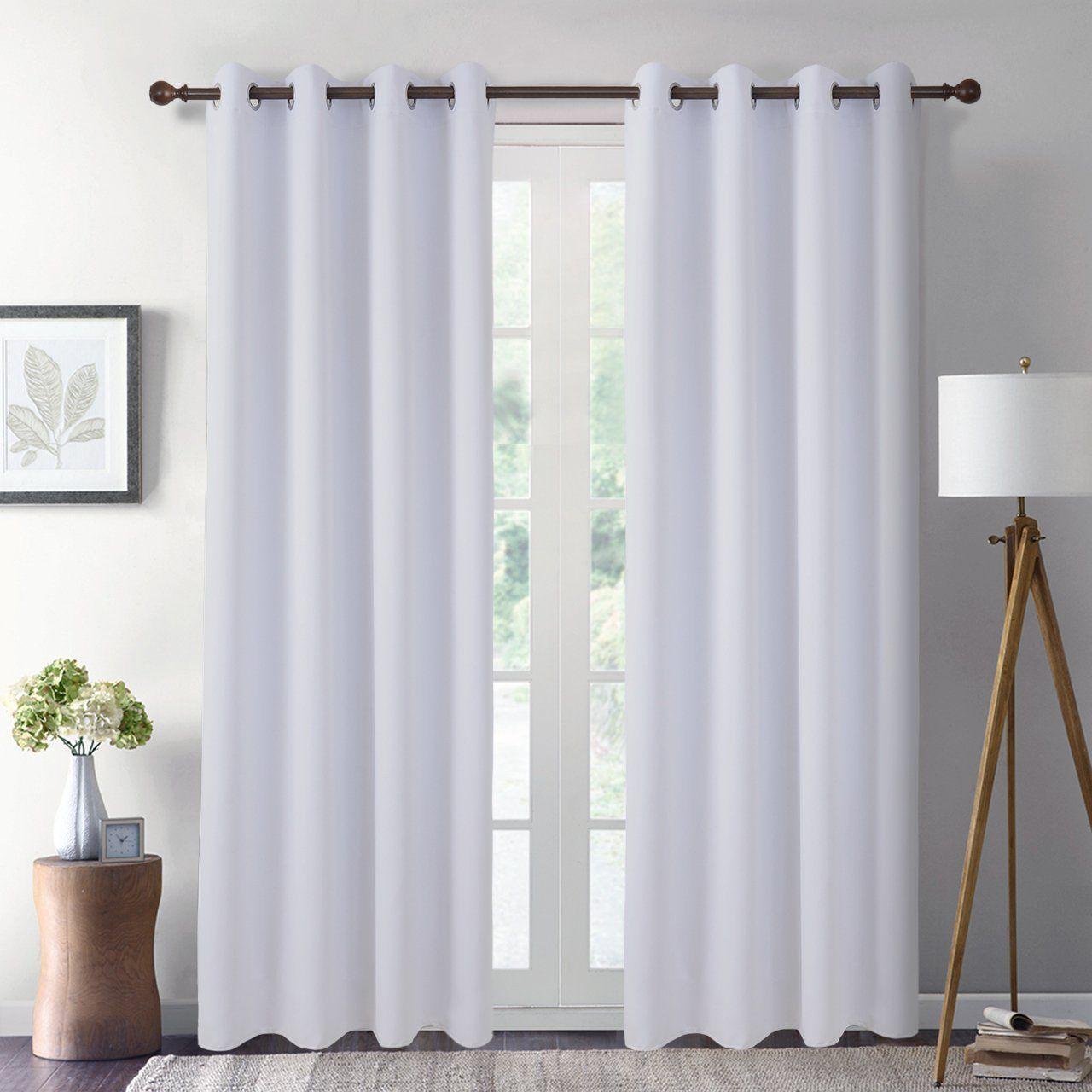 Amazon Com Giaerd 2 Panel Set Blackout Window Panel Curtains