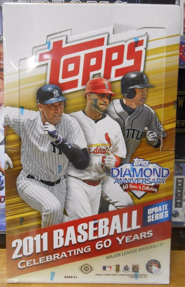 Details About 2018 Topps Update Series Sealed Baseball Hobby Box