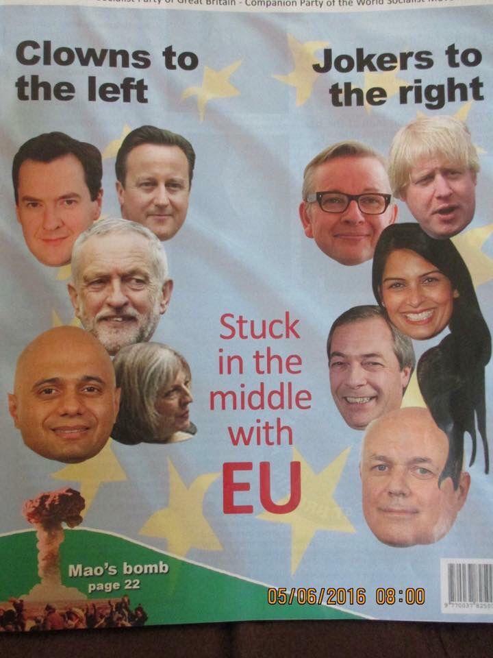 Eureferendum Brexit Ladybird Books Funny Images Political Satire