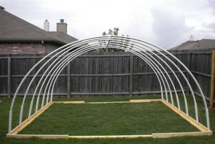 x pvc vegetable greenhouse frame - Pvc Frame Greenhouse Plans