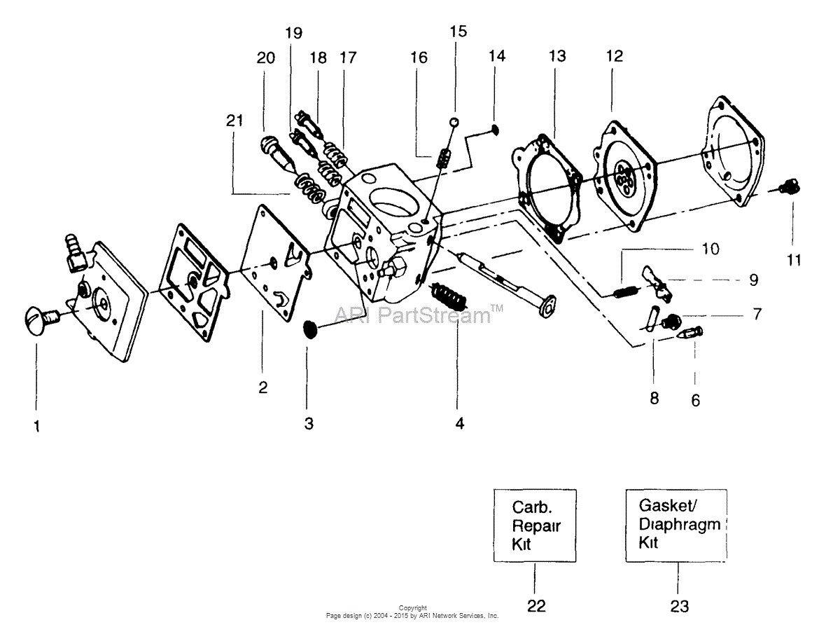 41 Poulan Pro Pp4218a Parts Diagram Gm6c