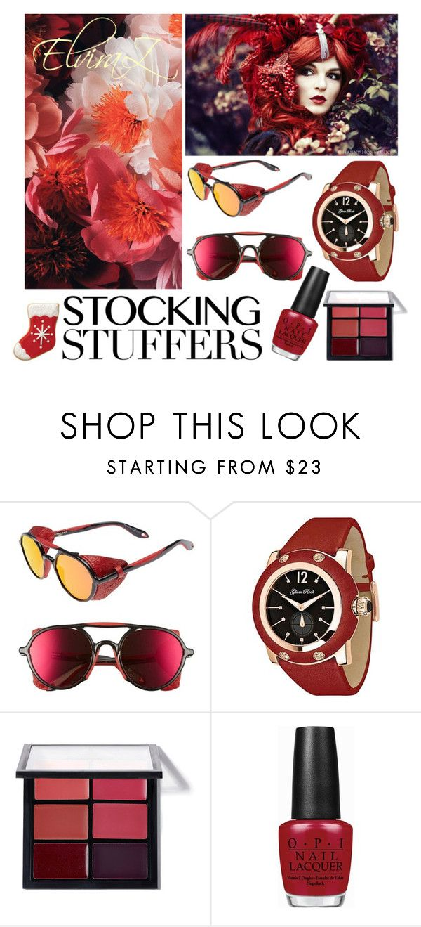 """STOCKING STUFFERS"" by elza76 on Polyvore featuring мода, Givenchy, Glam Rock и OPI"