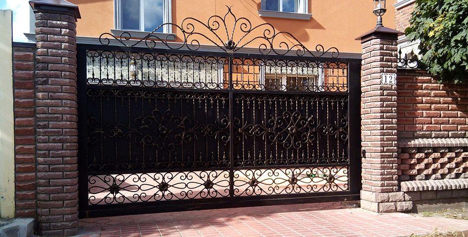 Купить откатные ворота в Санкт-Петербурге | Ворота, Декор ...