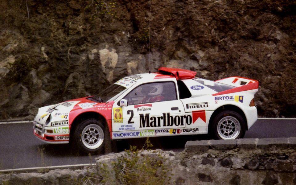 Antonio Zanini Rally Car Rally Car Racing Ford Motorsport