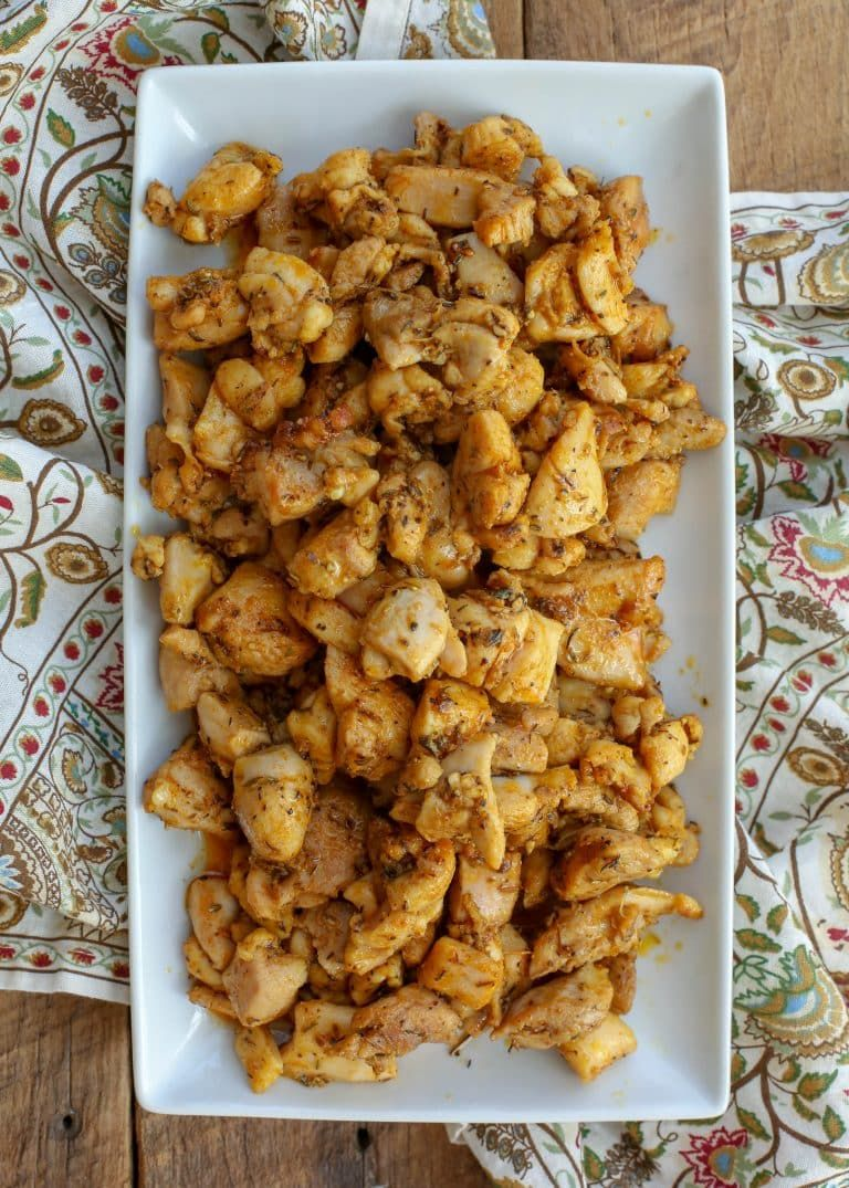 Indian Chicken Bites (With