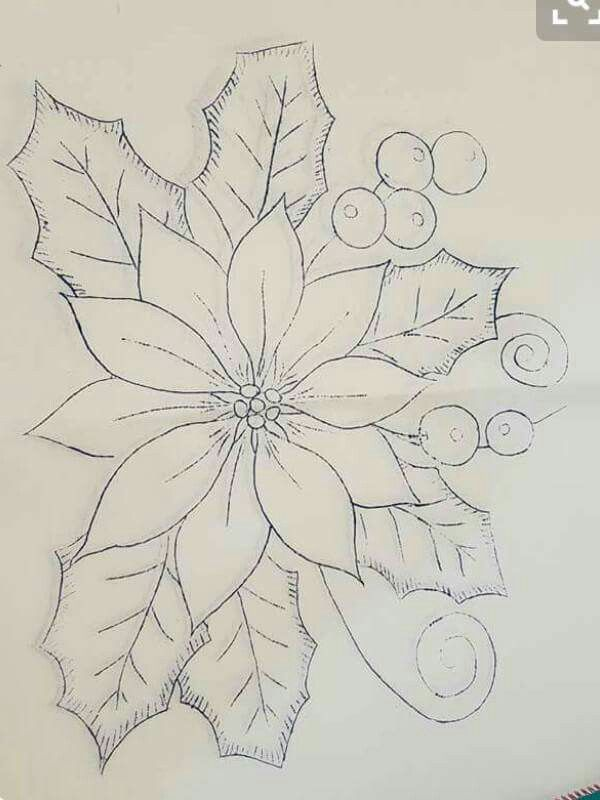 Pascuero | dibujos para bordar y pintar | Pinterest | Natale, Ricamo ...
