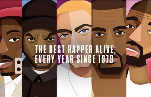 Le classement des meilleurs rappeurs de chaque année depuis 1979 !