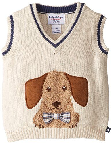 Kitestrings Baby-Boys Newborn Cotton V-Neck Sweater Vest, Oatmeal, 0-3 Months Kitestrings http://www.amazon.com/dp/B00L4FXNQ8/ref=cm_sw_r_pi_dp_dZIAub1633DSA