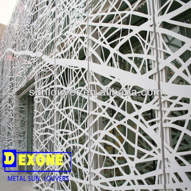 Perforated Metal Wall Panels | CNC Aluminum Decorative Wall Panel For Metal  Curtain Wall U0026 Facade