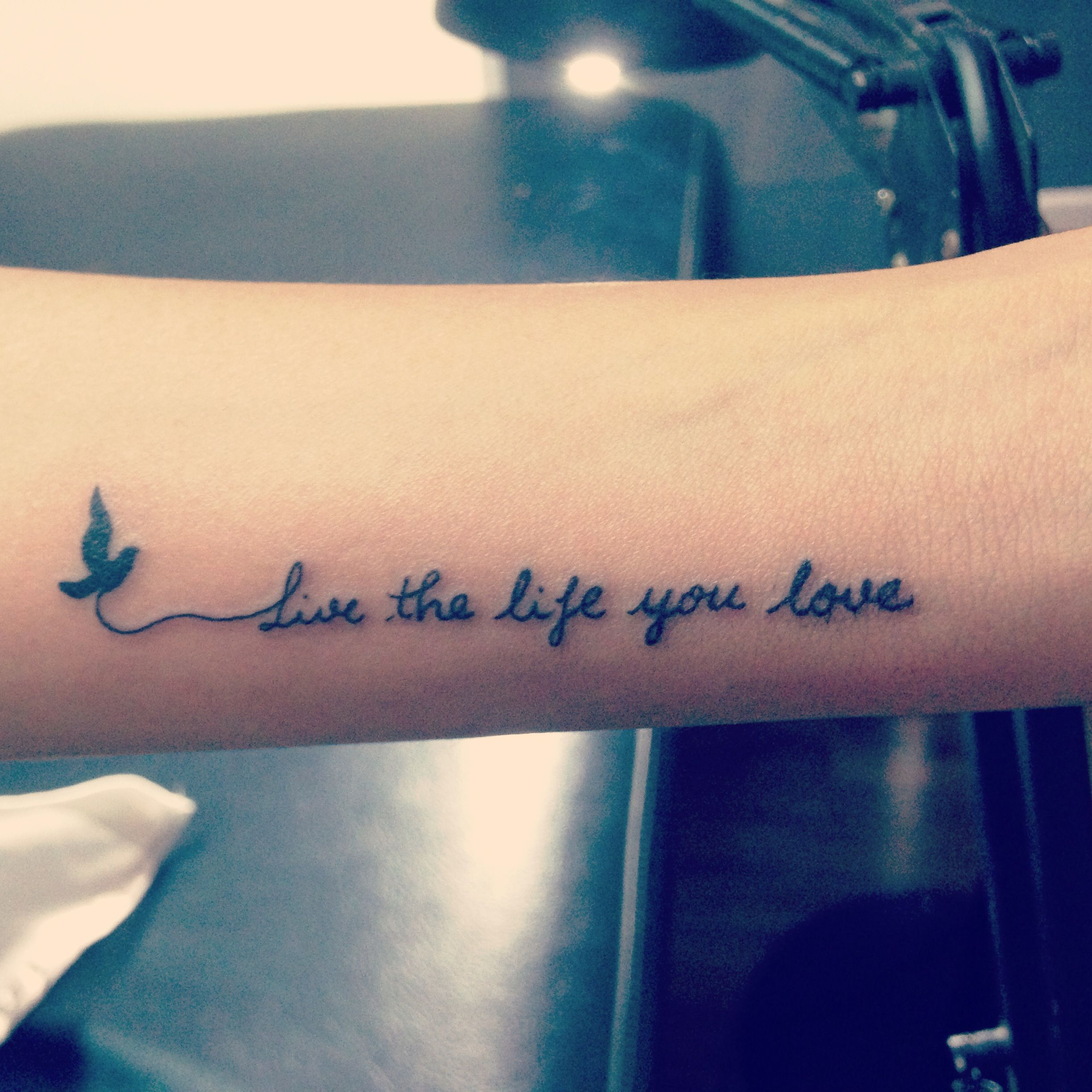 My First But Not Last Tatoo Tattoo Quotes Forearm Tattoo Quotes