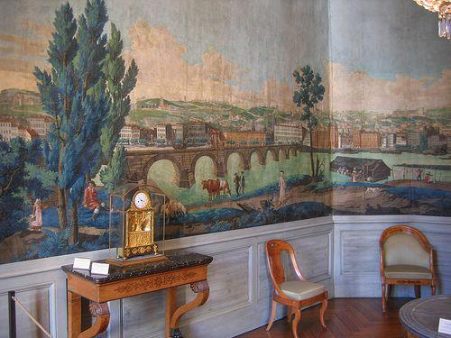 mus e des arts d coratifs de lyon et son papier peint panoramique panoramique pinterest. Black Bedroom Furniture Sets. Home Design Ideas
