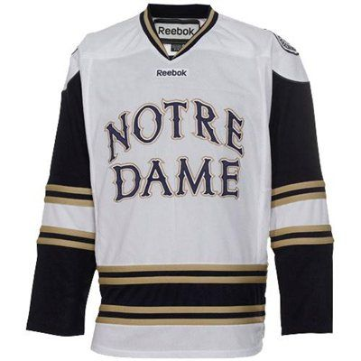 pretty nice 06ade 549c2 Notre Dame Fighting Irish Reebok Hockey Jersey | jersey's ...