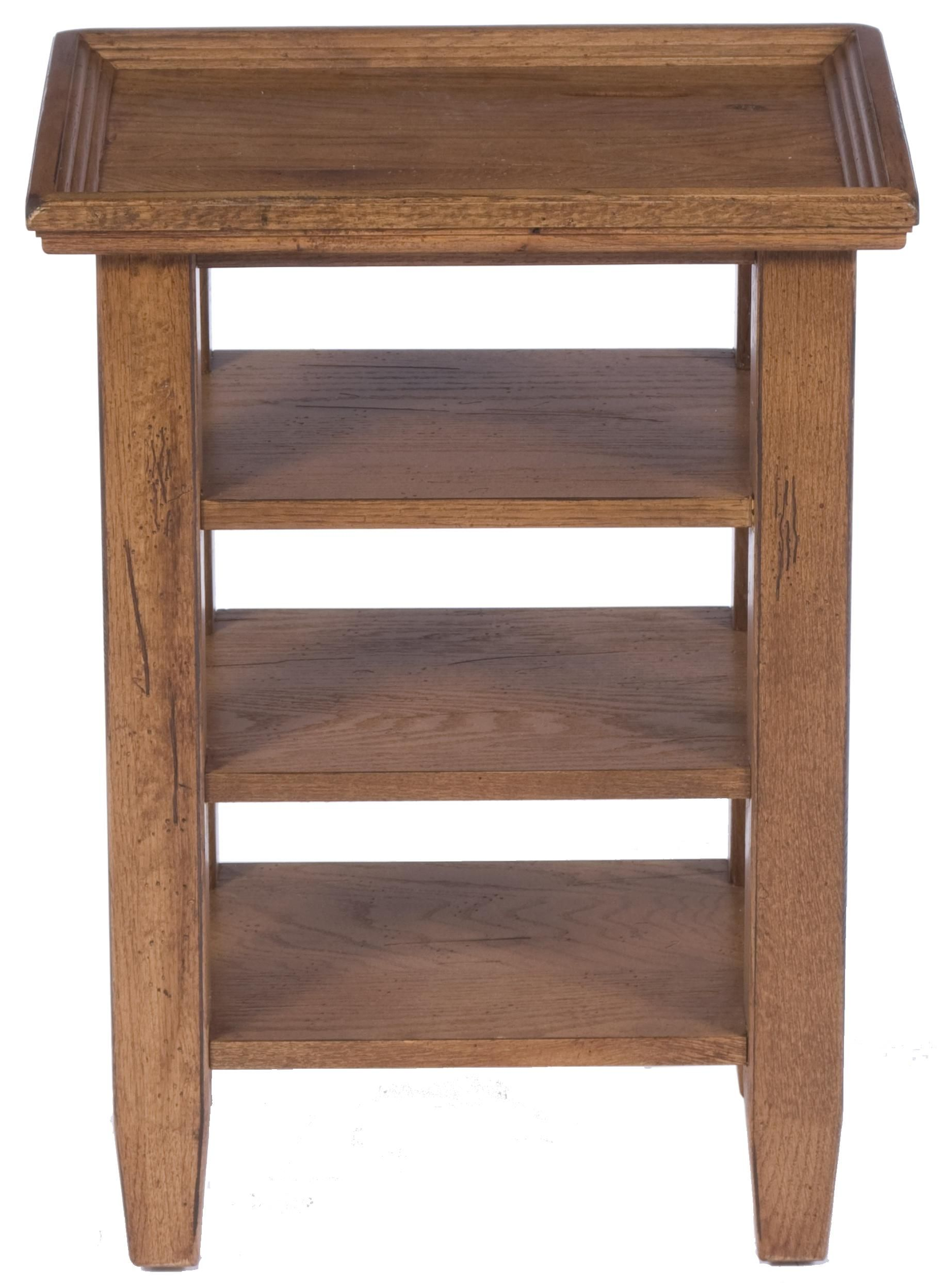 Attic Heirlooms Accessory Table By Broyhill Furniture At Pedigo Furniture