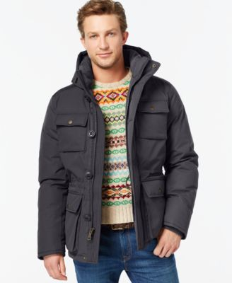 TOMMY HILFIGER Tommy Hilfiger Hooded Utility Field Coat. #tommyhilfiger #cloth # coats