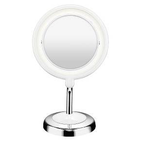 This Lighted Adjustable Cosmetic Mirror Is Illuminated Br With