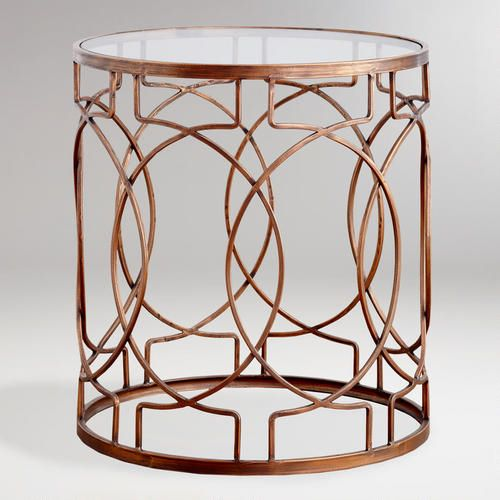 Pier One Metal Accent Table Accent Table Decor
