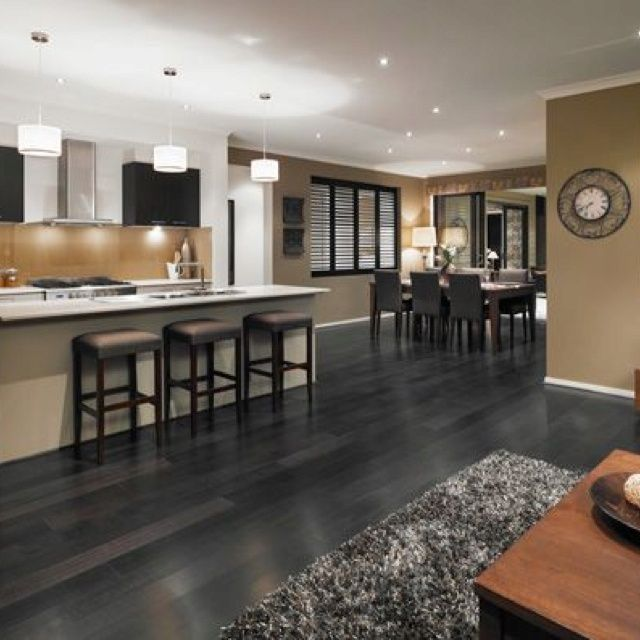 Sleek Grey Hardwood Floors To Exude Maximum Modernity Grey