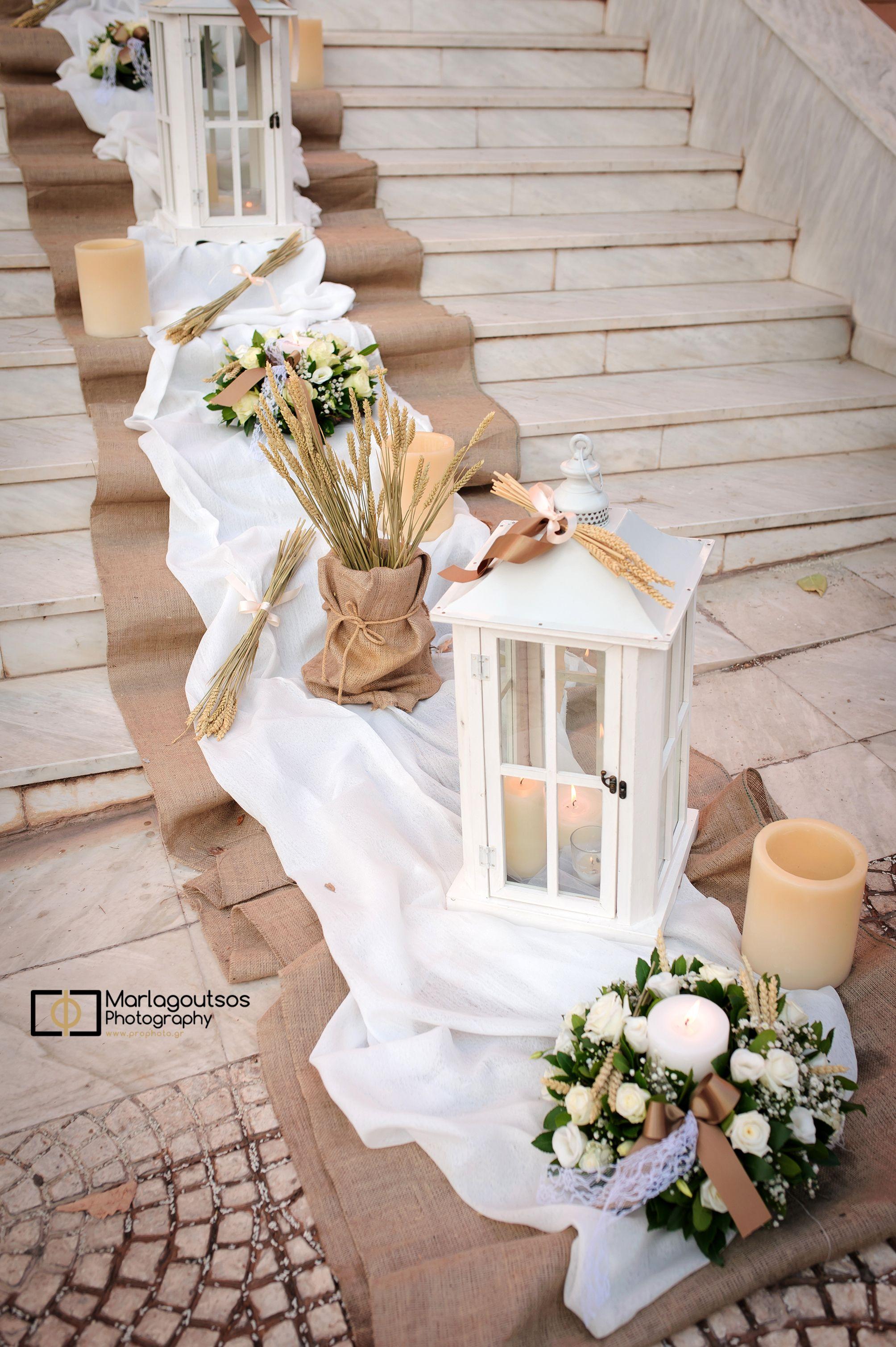 e3ea47a8f113 Vintage Στολισμός γάμου με αρωματικά φυτά στην Αγία Τριάδα στη Ν.Κηφησιά.  Vintage μπομπονιέρες