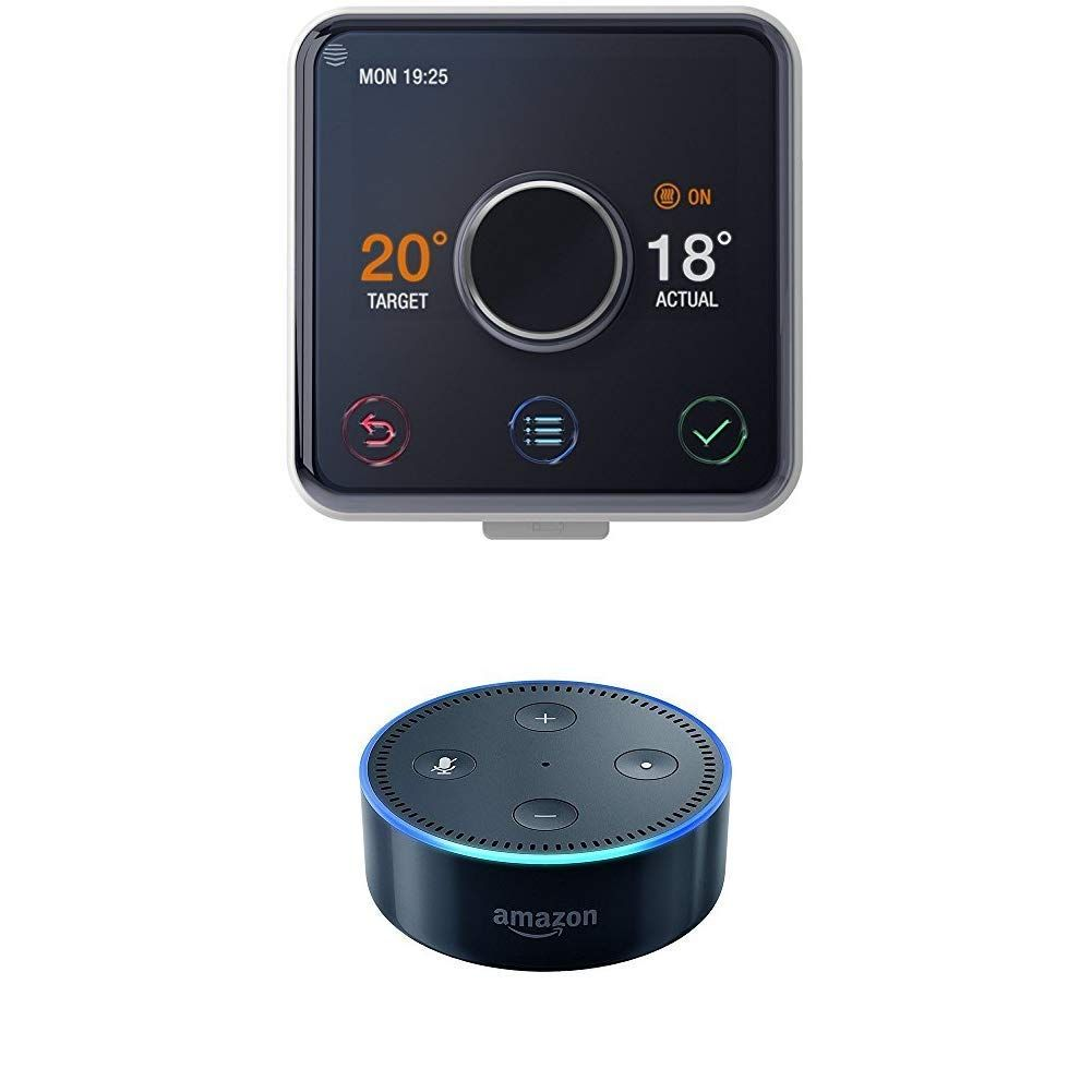Echo Dot Installation Hive Active Heating Thermostat Without Professional Installation