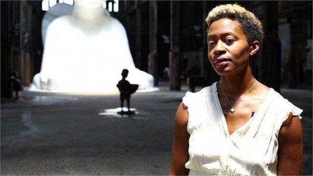BBC News - Kara Walker's monumental sugar sculpture