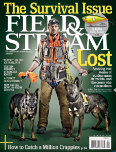 Training Officer Kyle Warren on the Cover of Field and