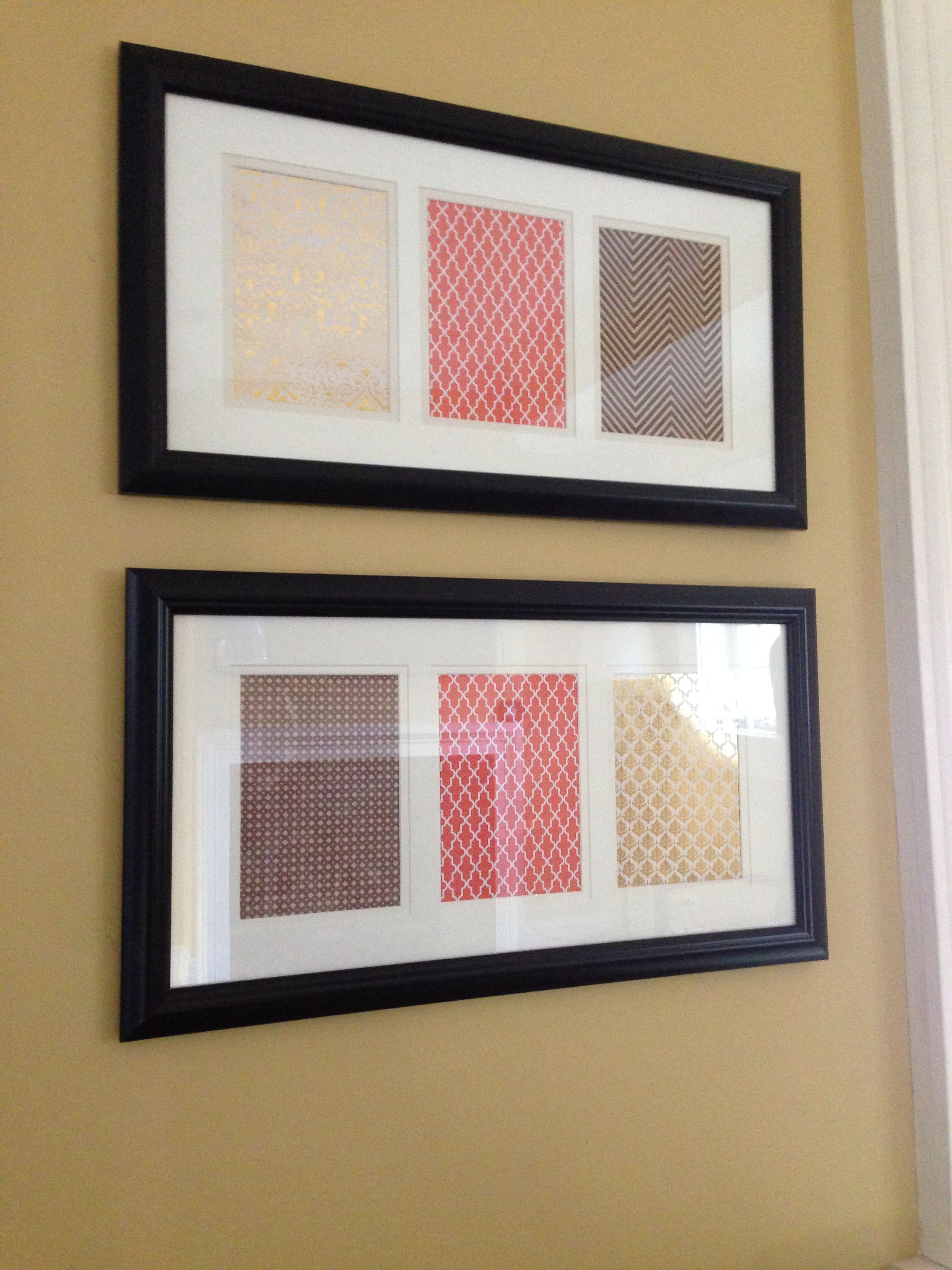 Some scrapbook paper is clearance frames from Joann\'s ! I love the ...
