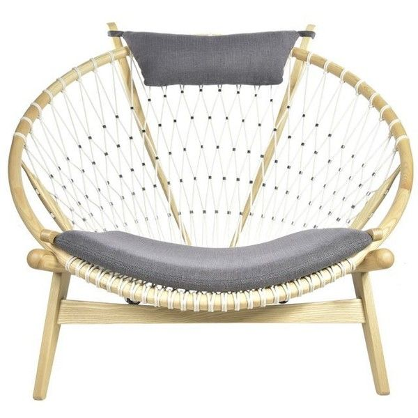 Replica Hans Wegner Circle Chair ($1395) ? liked on Polyvore featuring home furniture chairs hans wegner circle chair hans wegner chair wegner ...  sc 1 st  Pinterest & Replica Hans Wegner Circle Chair ($1395) ? liked on Polyvore ...