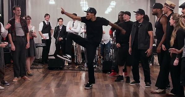 Swing Dancers and Street Dancers Battle It Out in One