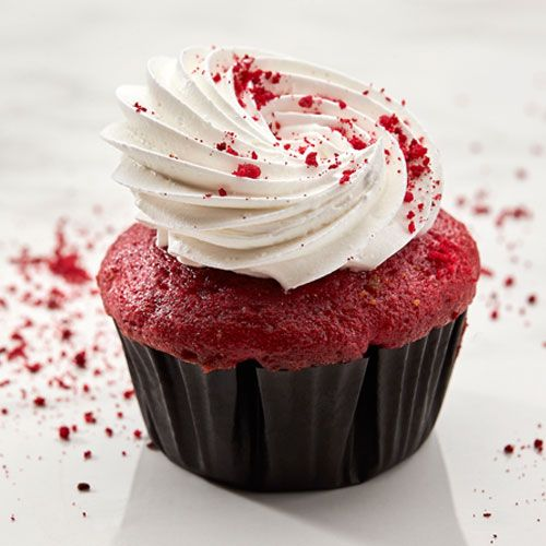 Buy Red Velvet Cupcakes Online in Bangalore Order Raspberry Cupcake