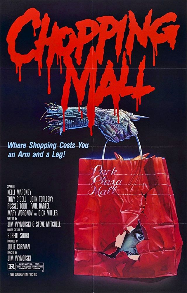CHOPPING MALL 1986--just in time for Christmas! | horror, sci-fi ...