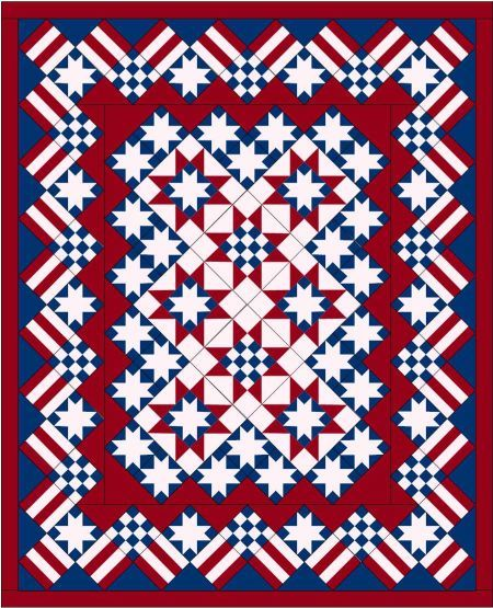 Stars and Stripes by Judy Martin