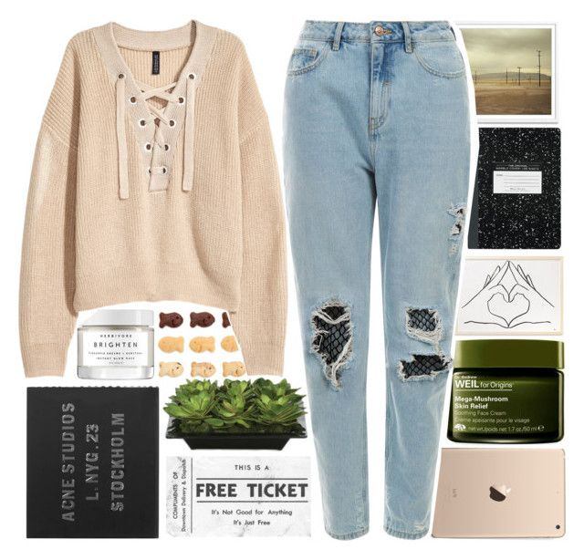 """""""...Ready for It?..."""" by isabellarose958 ❤ liked on Polyvore featuring H&M, Acne Studios, Lux-Art Silks, Herbivore and Origins"""
