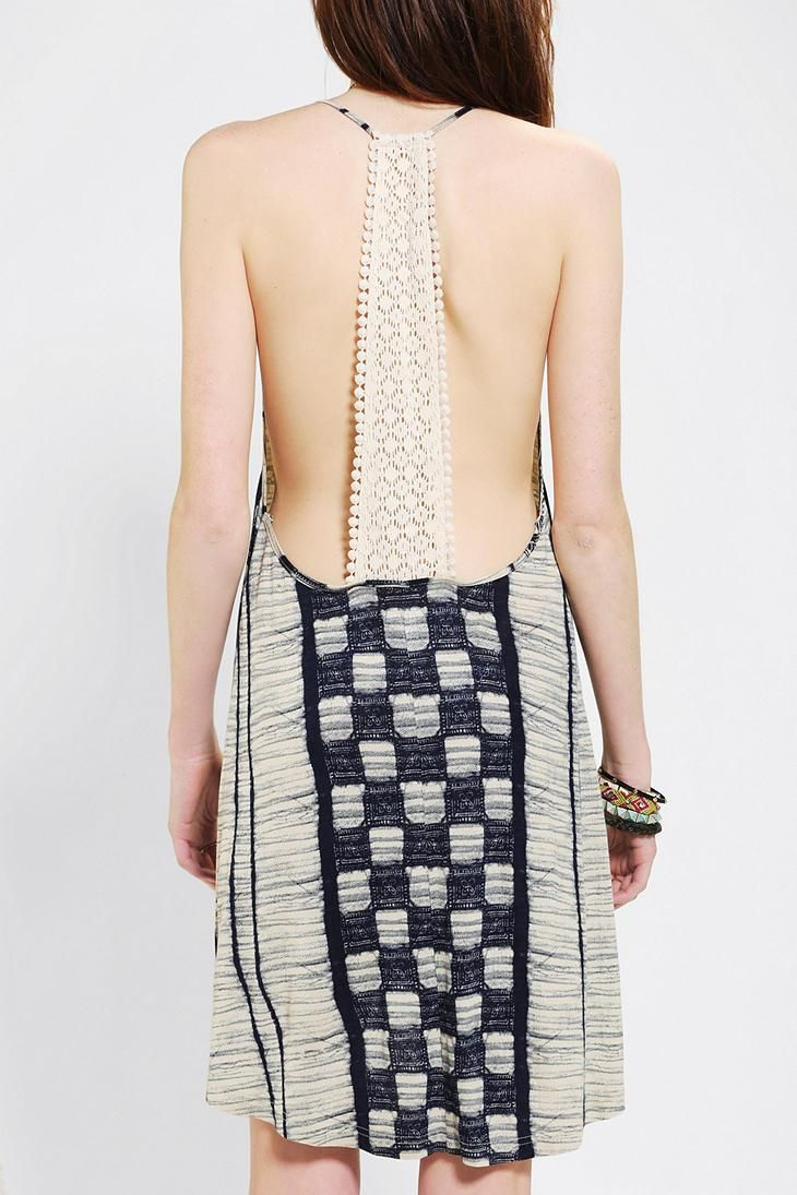Ecote Patchwork Dress #urbanoutfitters