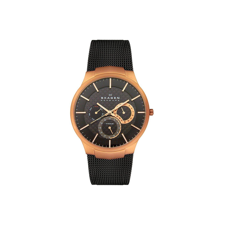 Skagen Multifunktion Titan Uhr 809XLTRB Modern watches