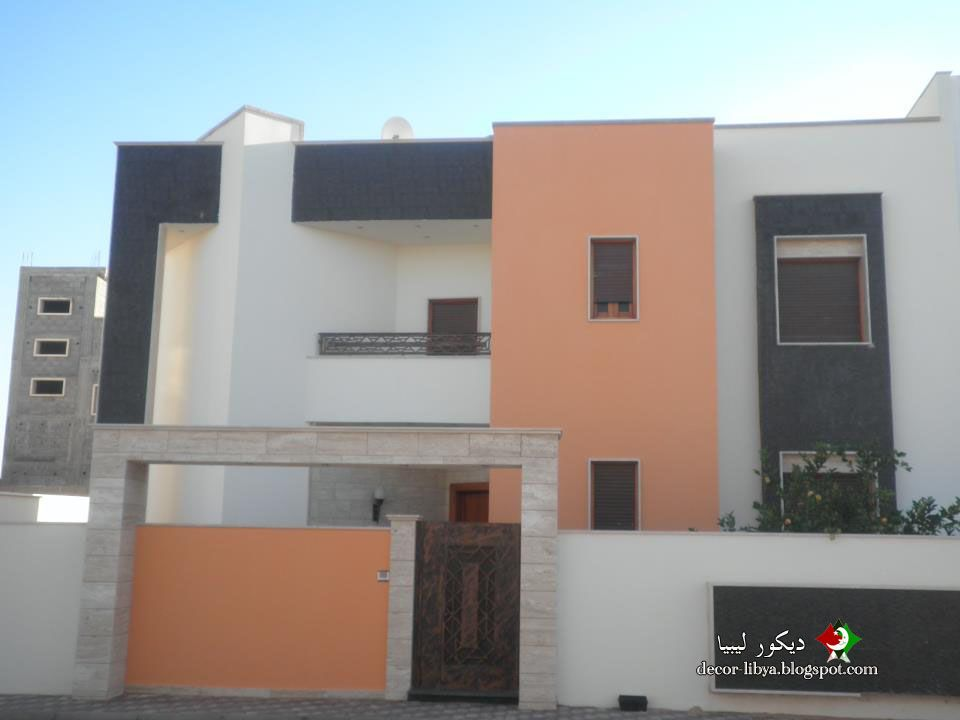 تصاميم لفيلل حديثه وراقيه جداا علي ارض الواقع في ليبيا ديكور ليبيا House Styles Mansions Decor